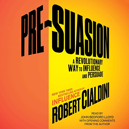 Pre-Suasion audiobook cover art
